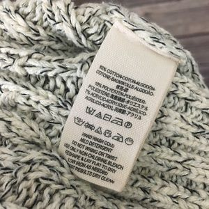 Free People Sweaters - Free People Twisted Cable Turtleneck Sweater